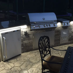 Outdoor Patio Lighting using Max Waterproof LED Strip Lights
