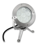 Underwater RGB LED Light Fixture - 18W, 24VDC