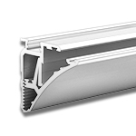 PULA Aluminum Extrusion for Glass and Acryclic Shelves