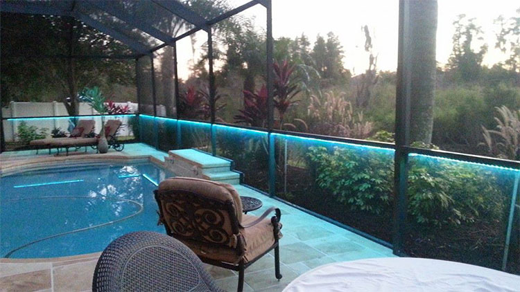 Pool enclosure lighting lighting ideas for Extreme pool show