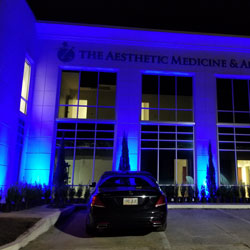 RGB Flood Lights Color Wash The Aesthetic Medicine & Anti-Aging Clinic