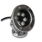 Underwater & Outdoor RGB LED Light Fixture - 18W, 24VDC