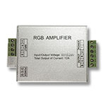 RGB LED Signal Amplifier, 12-24VDC 4A/CH