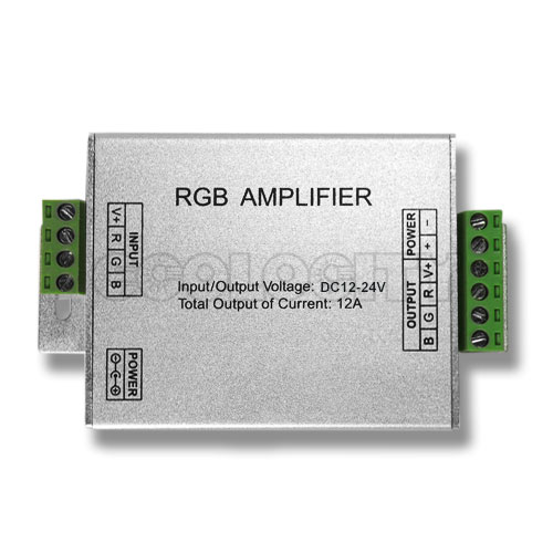 RGB Signal Amplifier for RGB LED lighting and modules