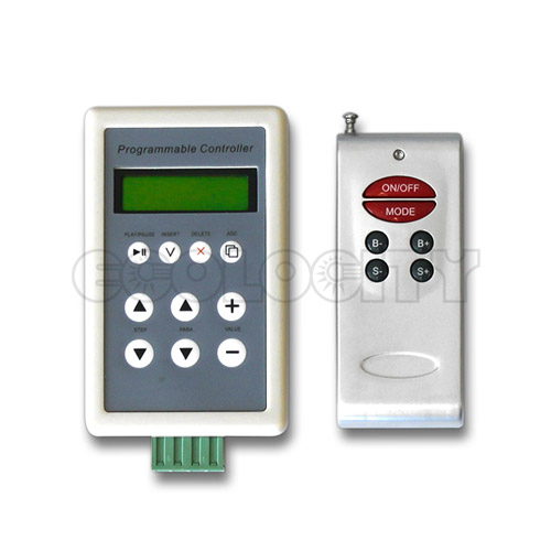 rgb led controller programmable rgb led controller for rgb led lights. Black Bedroom Furniture Sets. Home Design Ideas