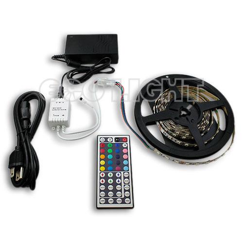 RGB 180 LED Strip Light Kit Plug And Play