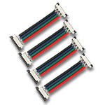 (4) RGB Ribbon Wire Ribbon  Connector 2""