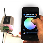 LED Iphone Controller