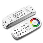 Color Wheel RGBW 8 Zone Programmable Controller and Receiver Kit, 5-24VDC 5A/CH