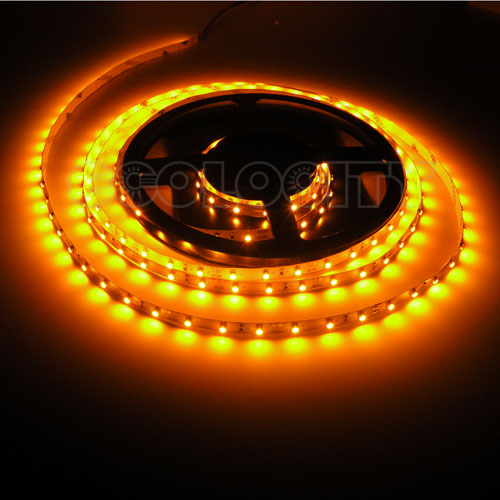 Ul listed ribbon star flexible led light strip amber 118 3m aloadofball Image collections