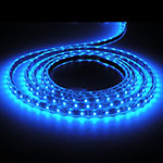 Blue LED Strip Shine