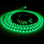 LED Ribbon tape lights green