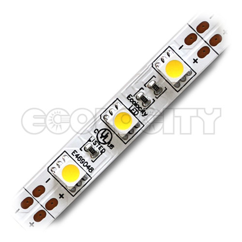 Led strip lights ul listed strip lighting ecolocity led ribbon star 5050 warm white led strip light ul 12vdc aloadofball Gallery