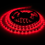 Red LED strip light tape