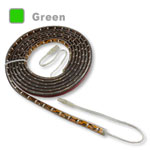Waterproof LED strip light in Green color LEDs
