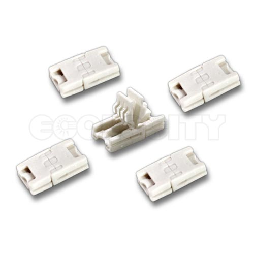 End to end snap connector for 10mm wide rgb led strip lights aloadofball