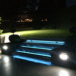 Landscape LED Stairs