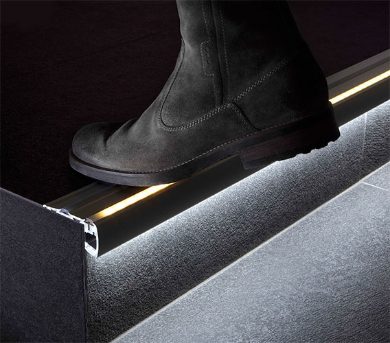 Step Extrusion From Klus For Custom Led Strip Light