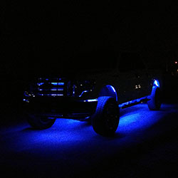 Interior and exterior truck lighting using led strip lights aloadofball Image collections
