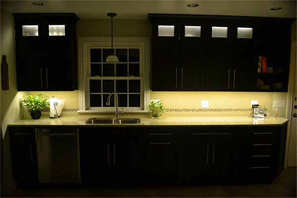 kitchen cabinet lighting led. under cabinet led close kitchen lighting led e