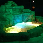 Yellow LED Pond
