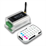 4 in 1 Wifi LED Network Controller and Dimmer for Smartphones or Tablets, 12-24VDC 4A/CH