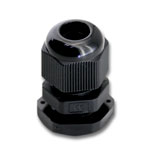 PG9 Black Nylon Waterproof Cable Connector Gland