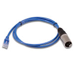 "DMX Signal Cable, XLR5 Male to RJ45 - 36"""
