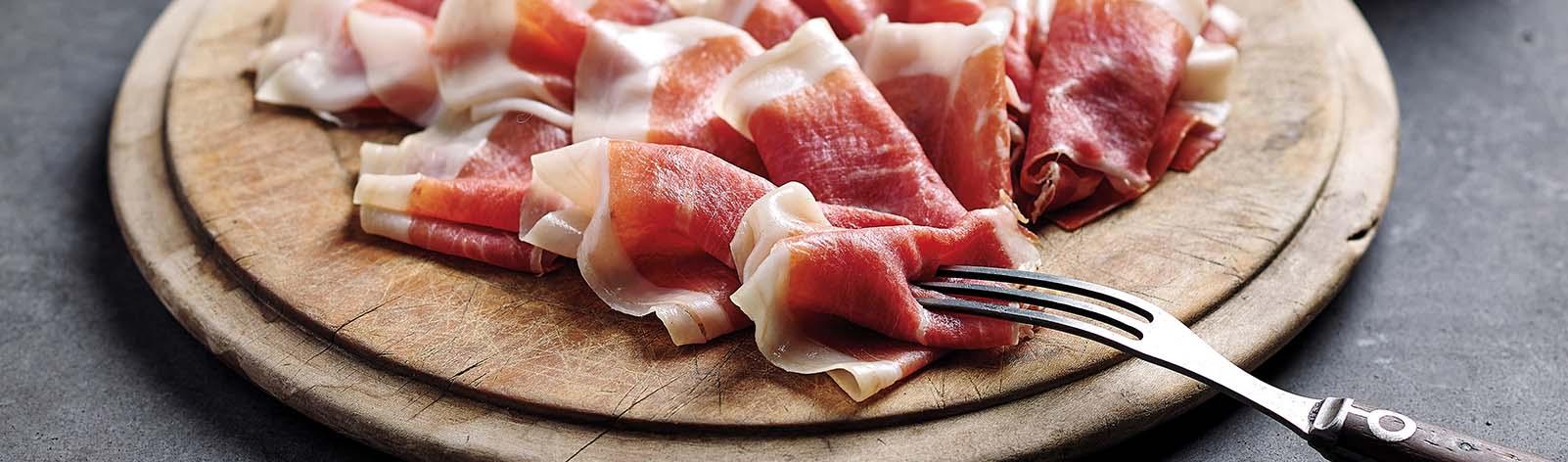 Surryano Iberico Ham Slices Desktop Slider