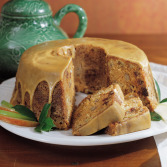 Apple Date Caramel Cake