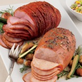 Fully-Sliced Smoked Sweet Ham and Turkey Breast Combo