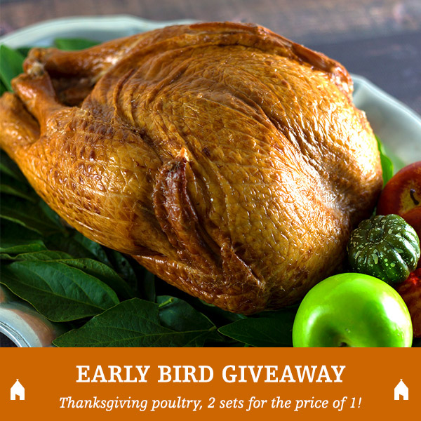 GIVEAWAY: Cooked, Bone-in Smoked Turkey