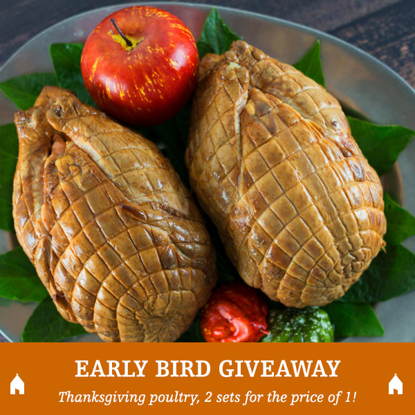 GIVEAWAY: Cooked, Bone-in Smoked Chickens