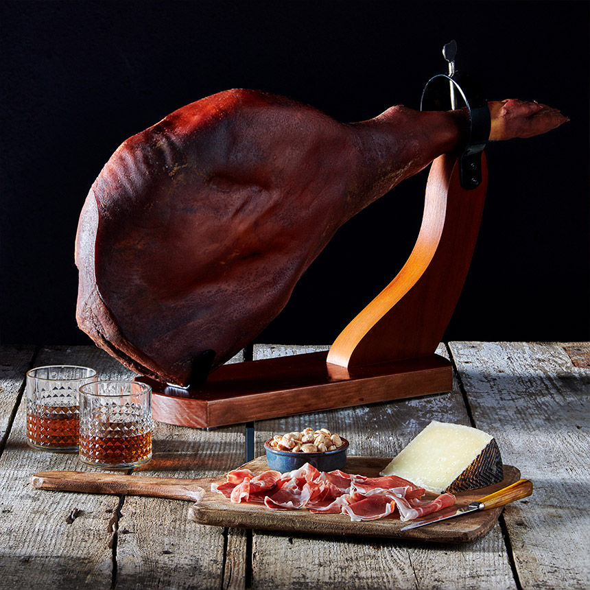Bone-In Surryano Iberico Ham