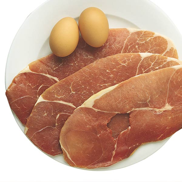 Uncooked, Country Ham Slices