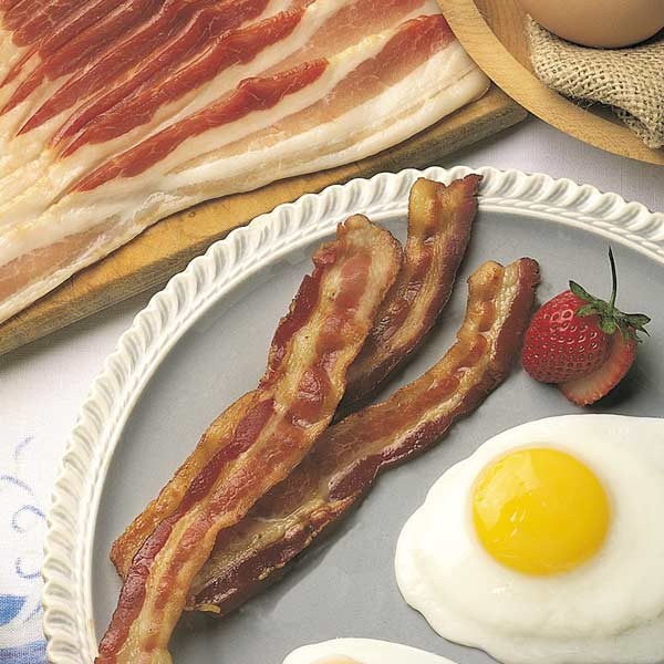 Sliced Hickory-Smoked Country Bacon - 6 (12 oz.) pkgs. Sliced Smoked Country Bacon