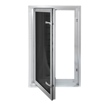 in swing basement egress window compliant with international building