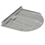 Basement window covers for the 2062 Wellcraft window well. Protects the gap by keeping out leaves and other debris.