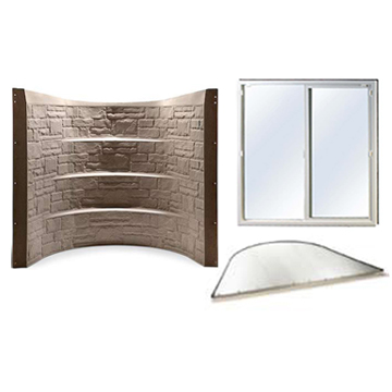 Stonewell Egress Kit - Sandstone