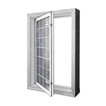 In-Swing Acrylic Block Egress Window
