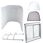 Easy Egress Kit - New Construction - White