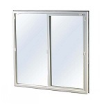 Easy Egress Vinyl Window