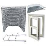 Easy Egress Escape Window Kit - Stacked Stone