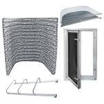 Easy Egress In-Swing Window Kit - Stacked Stone