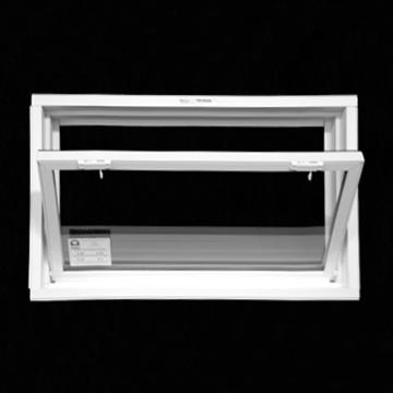 Vinyl windows vinyl hopper windows for Monarch basement windows