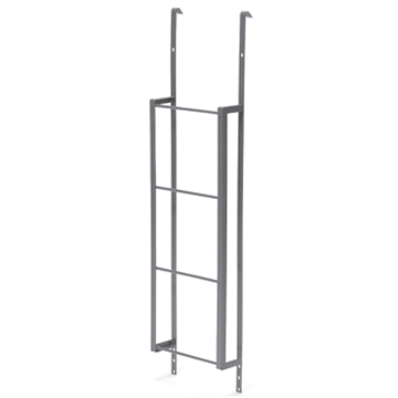 Fire ladder for Stif Back II egress window well, made of high-grade steel for strength and durability.