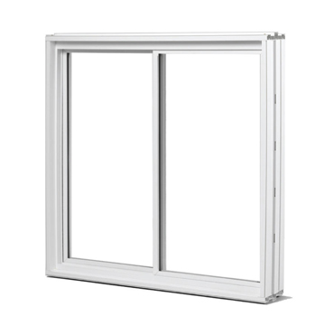 Monarch windows for safe, easy basement egress. Standard insulated Low-E glass with U-value of 0.37 and Argon filled.