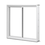 PVC V300 Low-E Slider Window