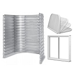 Finish a basement according to the IRC building code with the Stif Back II Egress kit. Includes galvanized steel well.