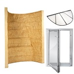 Elite Tan Well  KIT with In-Swing Window